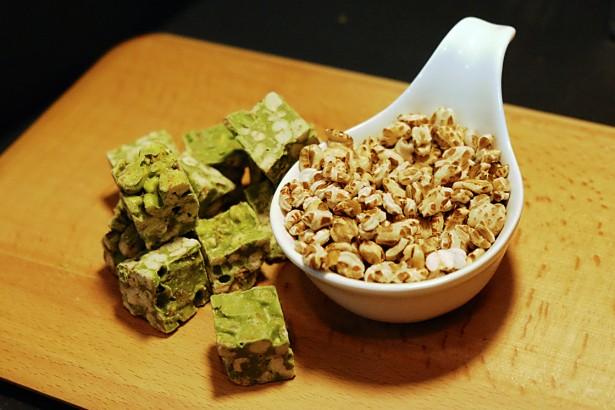 台灣小麥更好吃 抹茶爆麥香 麵線福壽