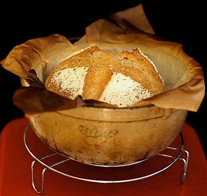 砂鍋麵包(圖片提供/在她家)