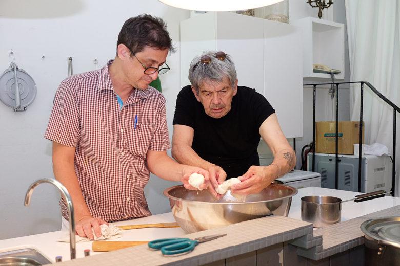 義大利乳酪老師傅Rolando和DIDA Creamery創辦人Henry