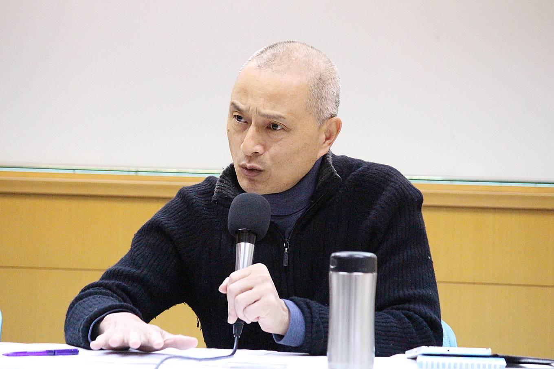 朱增宏坦言,又感受到後續兩場公聽會群眾動員的壓力,有點擔心,因此才希望政府停辦公聽會(攝影_賴郁薇)