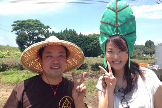 由美跟著合作的農民作出各種新嘗試,自己也享受其中。