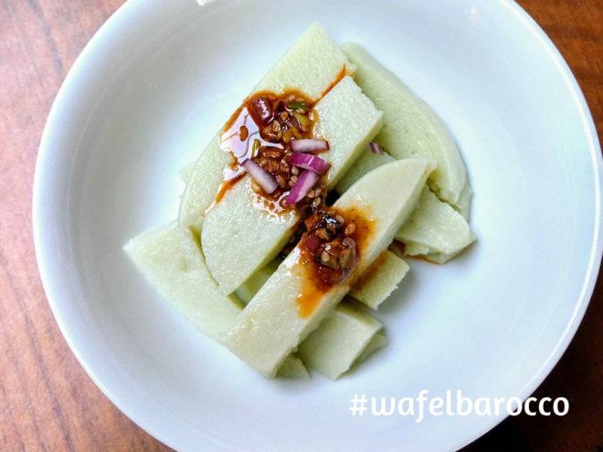 green pea tofu