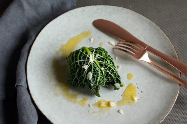 法國創意家常料理捲心菜葉包蒸魚POISSON VAPEUR EN FEILLES DE CHOU