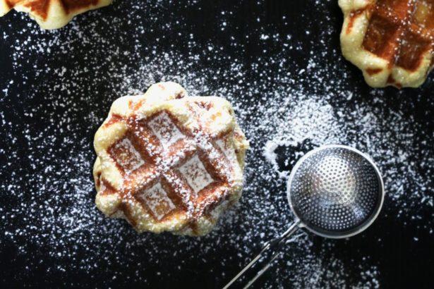 法國家常地方甜點-水蜜桃阿嬤的列日弗餅