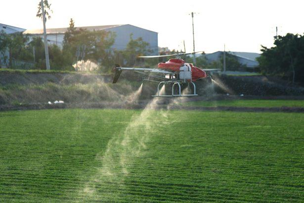 無人機噴農藥效果如何?農友驚嘆 5分鐘噴完2分絲瓜園 連葉背也噴到
