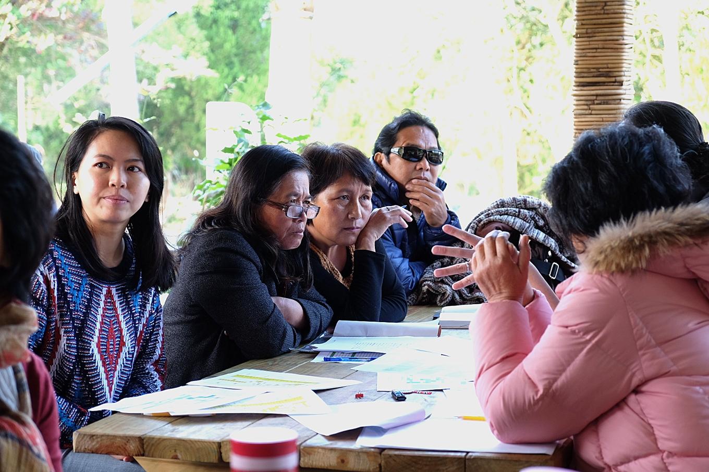 部落e購的嘉義嘉義原農協同組合每個月固定舉行一次PGS共識會議。(攝影/郭琇真)