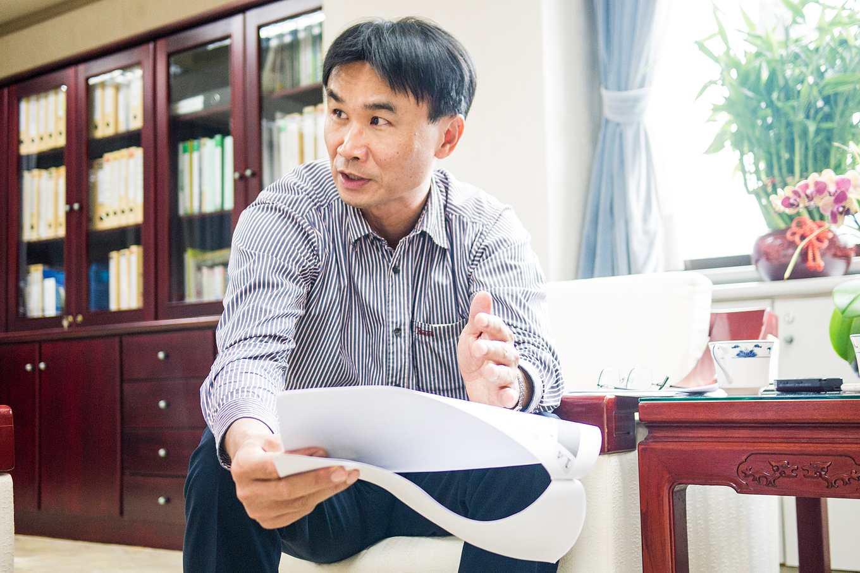農委會副主委陳吉仲(攝影/羅健宏)