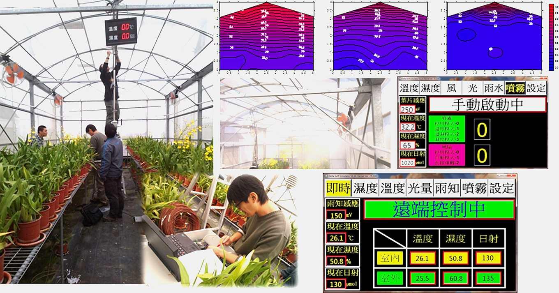 應用實例-設施微霧降溫監控系統(圖片提供/農試所)