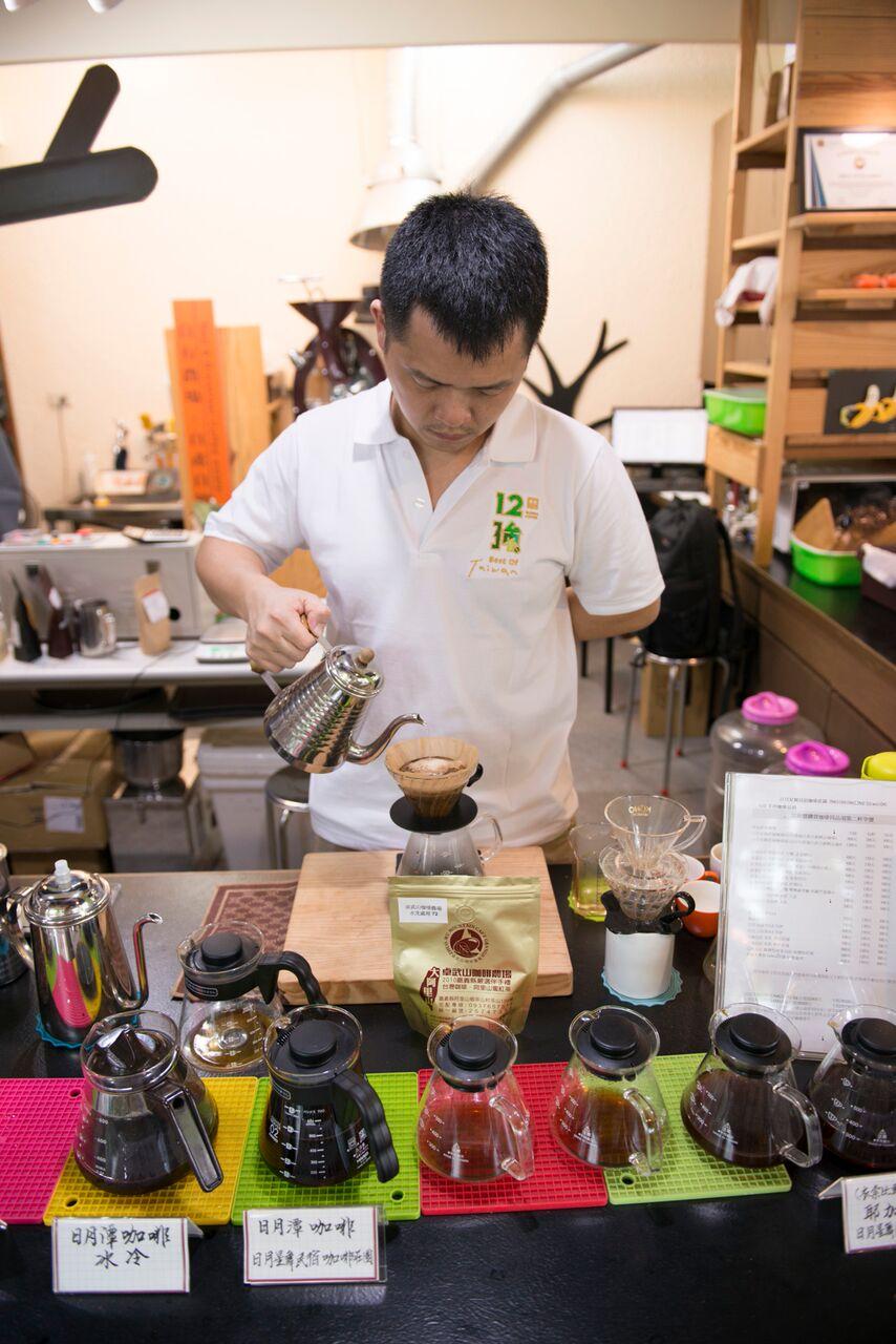 沖煮技術精進也是咖啡產業練的重要一環