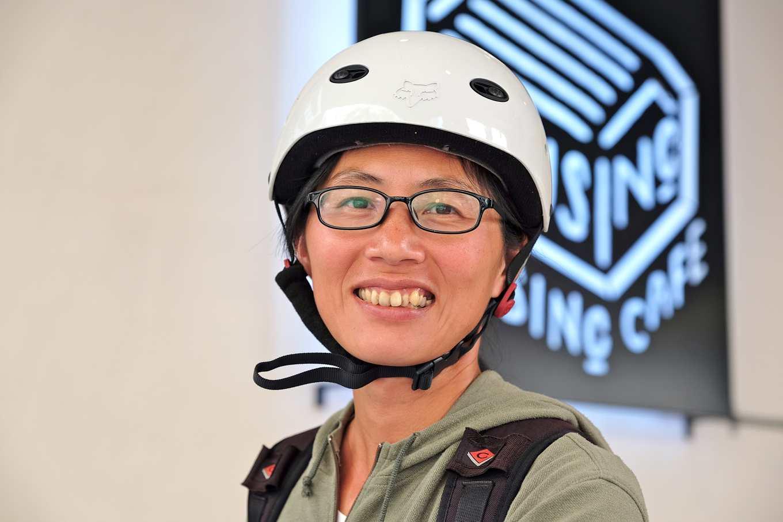 林乙華是資深登山嚮導,同時也在務農,試圖將綠色飲食觀念融入登山糧食(攝影/蔡佳珊)