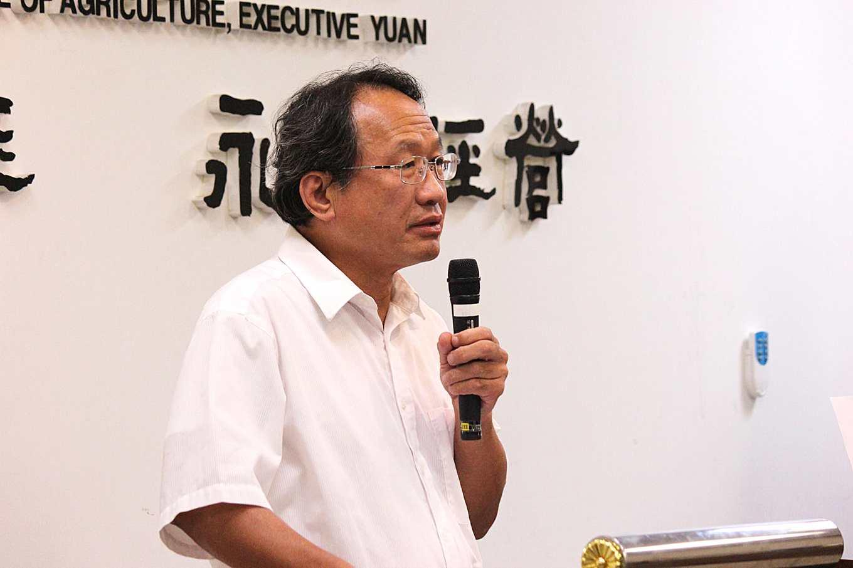 農委會副主委黃金城(攝影/賴郁薇)