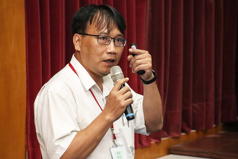 農委會防檢局植物保護科副組長劉天成(攝影/孔德廉)