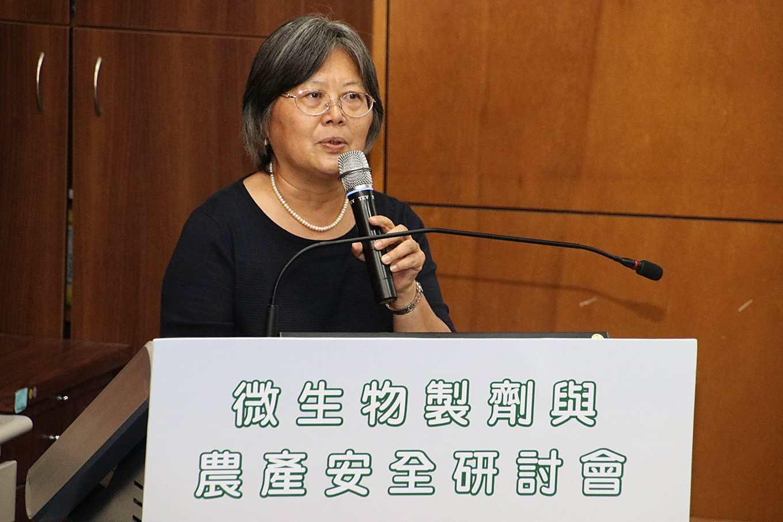 前防檢局局長、現農業生物科技園區主任張淑賢(攝影/孔德廉)