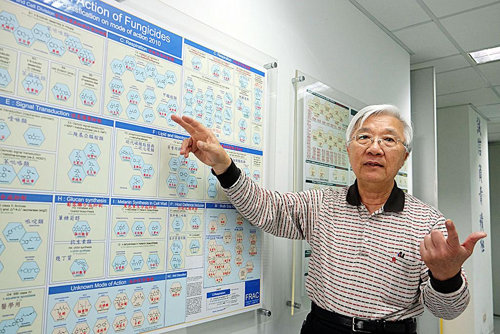 中興大學植物病理學系特聘教授曾德賜(圖/上下游資料照片)