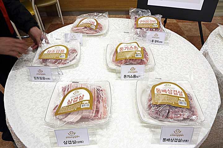 使用韓國大麥養豬而成的豬肉(圖片來源/hansalim合作社網站)