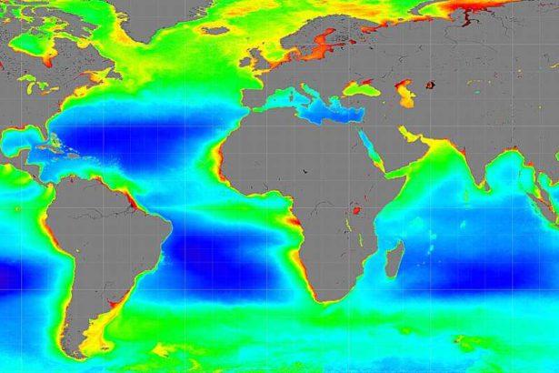 氣候變遷也影響了海洋(出處:NASA)