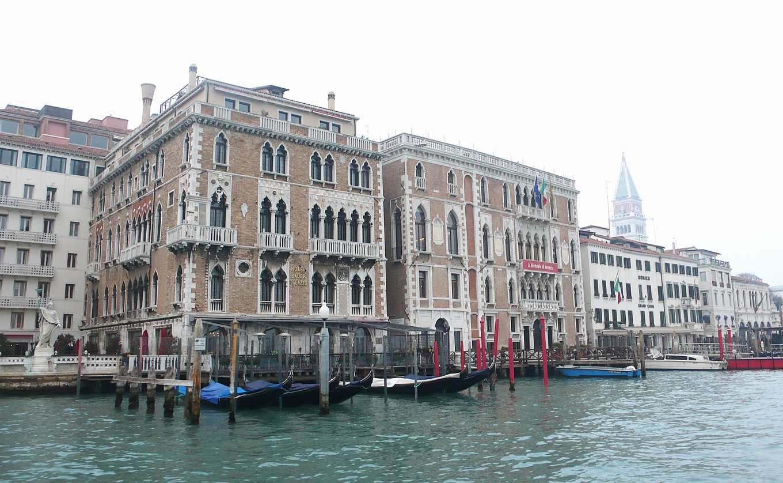 威尼斯瀕臨的亞得里亞海,可能上升逾50公分(攝影/鄭傑憶)