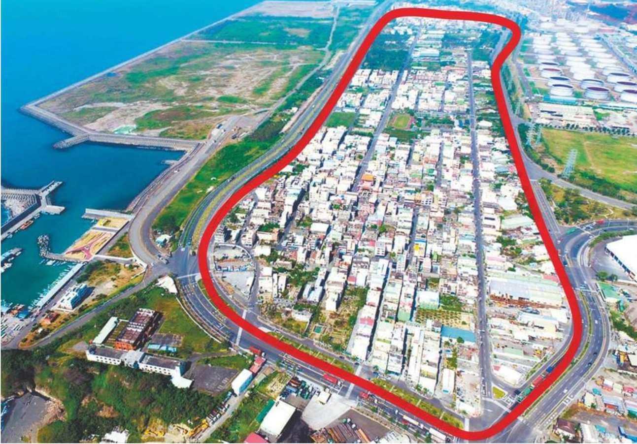 大林蒲是台灣首次因污染而集體遷村案例(圖片來源/高雄市都發局)