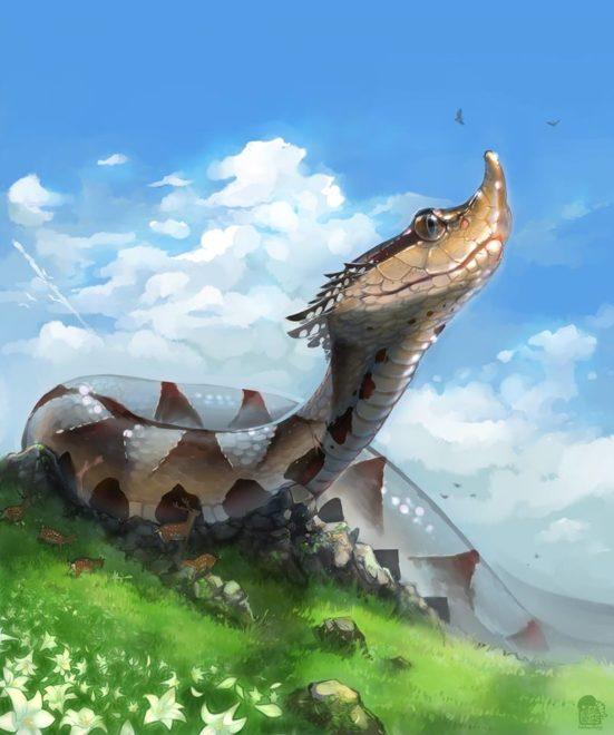 山神的山谷/創作者:迴雪墨廊 inksnowflying