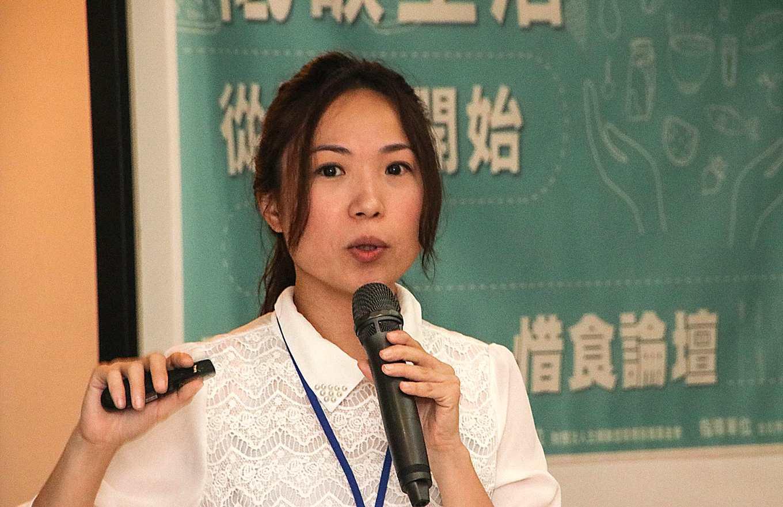 台大農業經濟系研究團隊成員李怡芳(攝影/孔德廉)