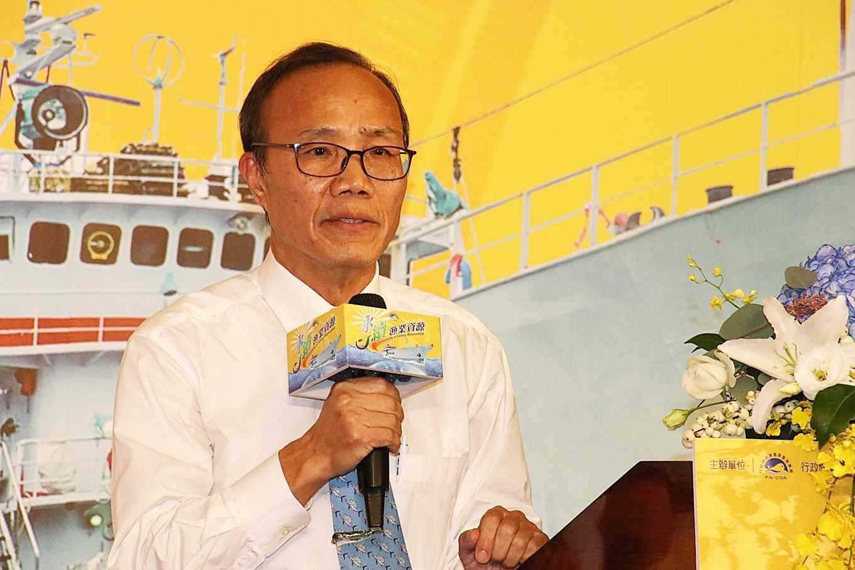 漁業署署長陳添壽(攝影/孔德廉)