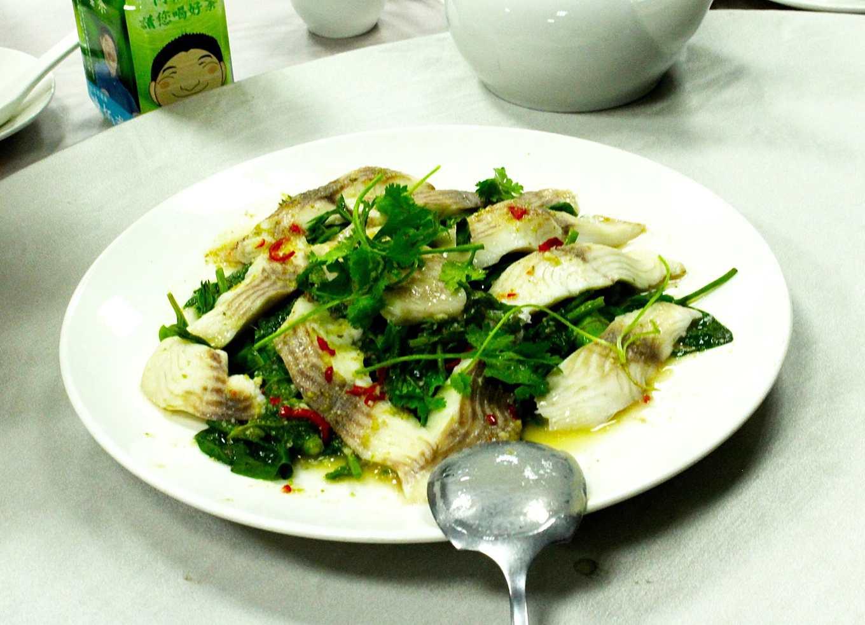 青蔬檸檬魚(攝影/劉怡馨)