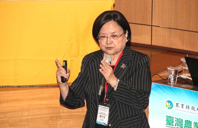 成大生物資訊與訊息傳遞研究所講座教授羅竹芳(攝影/孔德廉)