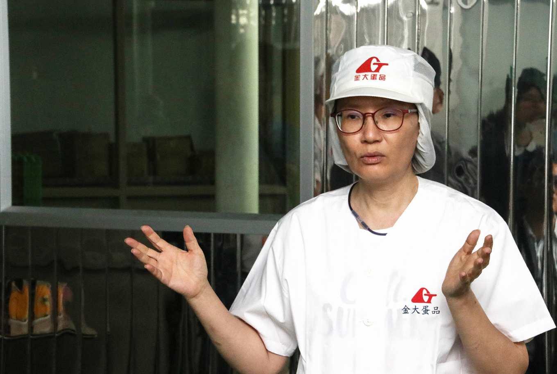 金大畜牧場第二代負責人黃惠娟(攝影/孔德廉)