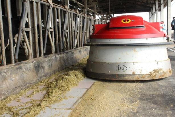農業機器人來了!為牛擠乳刮糞送飼料不求人│穀倉智能防蟲也有新招