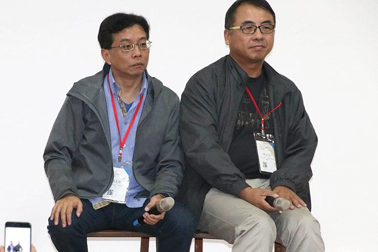 劉志偉(左),楊文全(右)/ 攝影 孔德廉