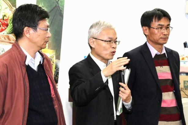 農糧署副署長莊老達說明(攝影/孔德廉)