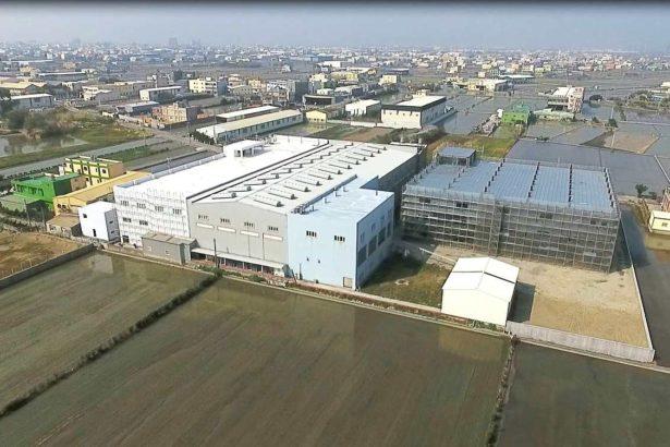 彰化頂番婆農地上新建違章工廠(地球公民基金會提供 吳其融攝)