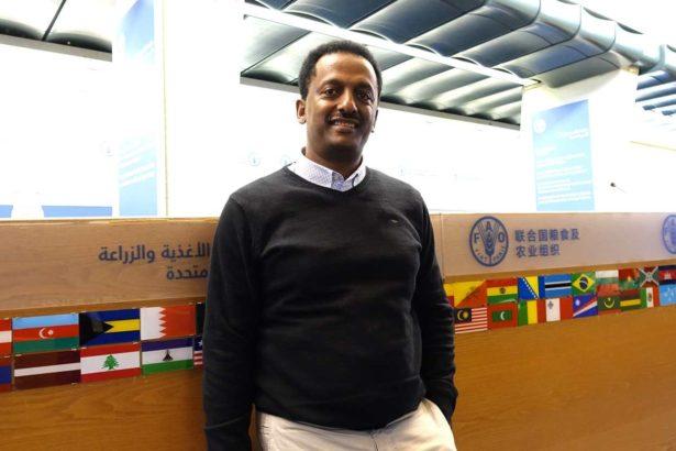 非洲糧食主權聯盟(AFSA)創辦人畢雷(Million Belay)攝影/鄭傑憶