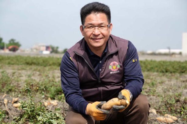 慶全地瓜合作社理事主席黃榮清,將台灣優質地瓜推向國際(攝影/蔡佳珊)