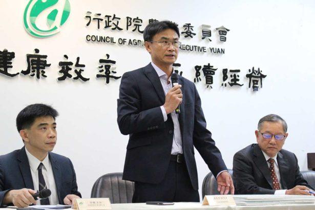 (中)農委會副主委陳吉仲(攝影/劉怡馨)