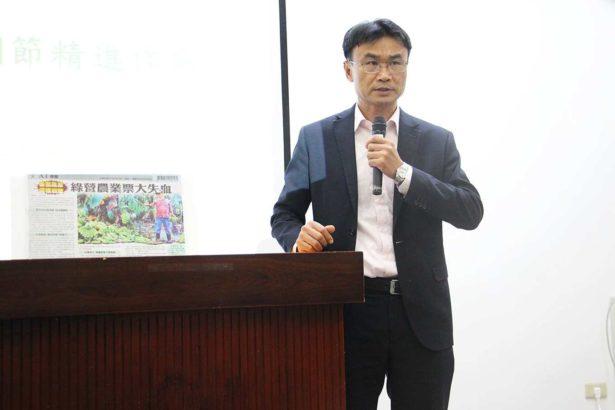 農委會副主委陳吉仲(攝影/劉怡馨)