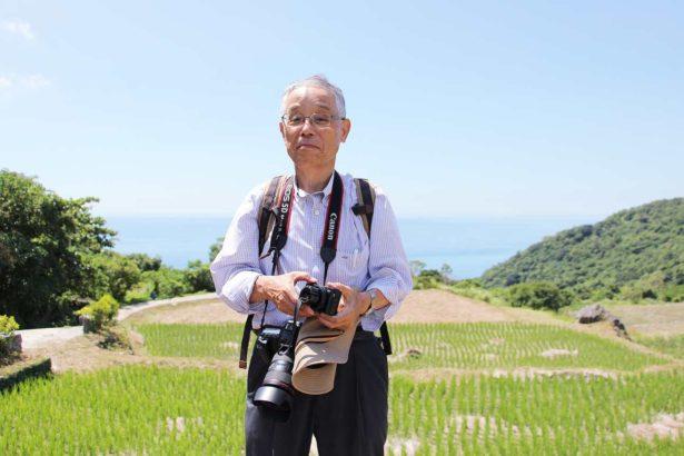 日本梯田學會副理事長安井一臣(攝影/劉怡馨)