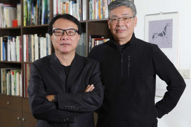 農村的遠見總策劃林盛豐博士 製作人兼導演 劉嵩01(公視提供,陳慶昇攝)