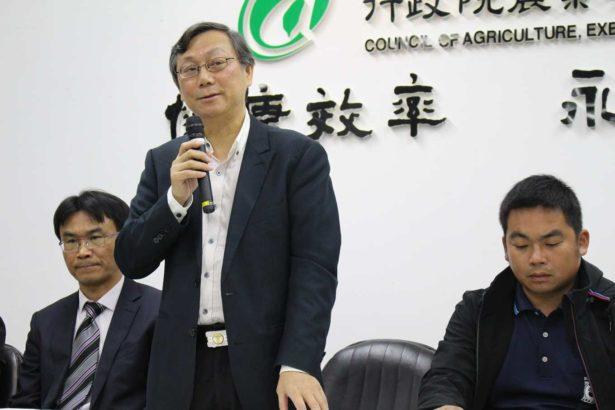 台大獸醫系專業學院院長周晉澄(攝影/劉怡馨)