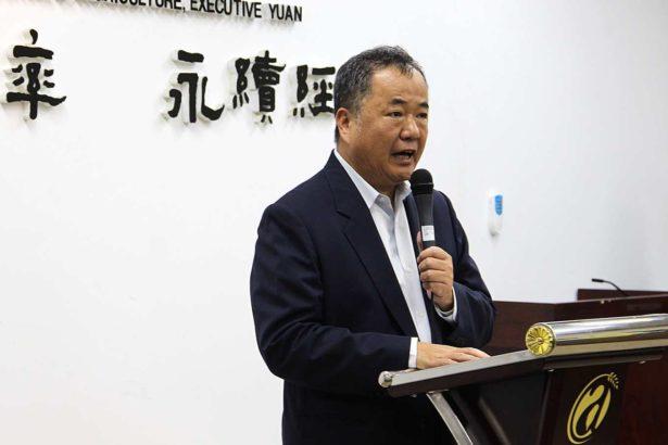 農委會主任秘書張致盛(攝影/段雅馨)