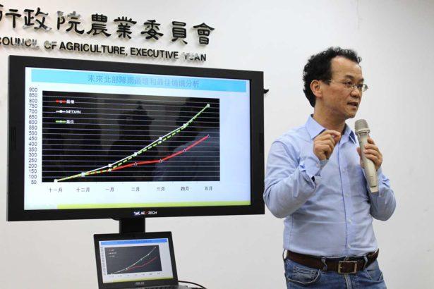 氣象風險公司博士賈新興(攝影/段雅馨)