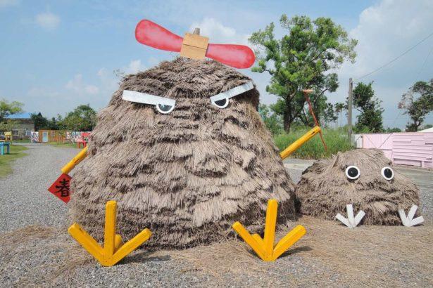土溝美術館以在地素材加入年輕元素創作(圖片來源/土溝美術館網站)