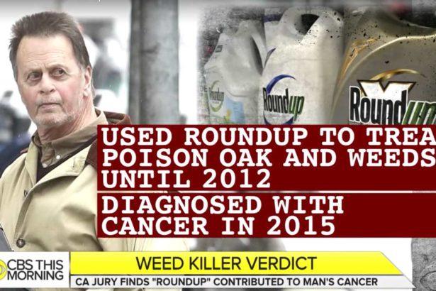 長期噴灑除草劑年年春,業餘園丁也得淋巴癌,誤信孟山都廣告:嘉磷塞比鹽巴還安全