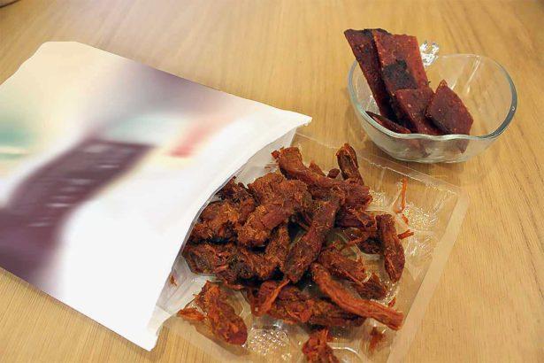 金門肉乾產業受到「輸台禁令」影響甚大(攝影/林珮君)