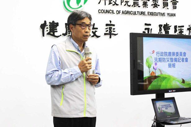 農委會副主委陳駿季(攝影/段雅馨)