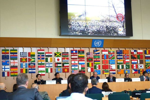 第7屆全球土壤夥伴大會(攝影/鄭傑憶)