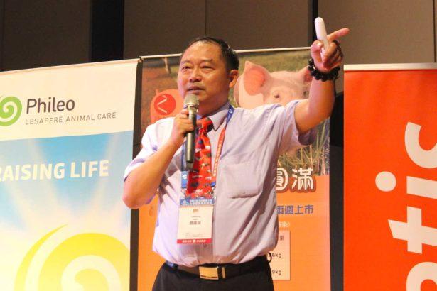 中國安佑集團養豬事業部總經理蕭國順(攝影/林珮君)