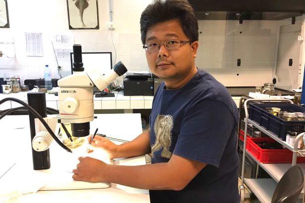 何宣慶表示,對於沒看過的魚種要保持敏銳度,把分類研究視作解題過程。(提供/何宣慶)