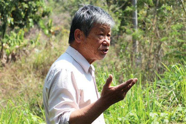 張弘田表示自己失去健康、也失去對人性的信任,希望不要有其他農民再承受跟他一樣的痛苦。(攝影/林吉洋)