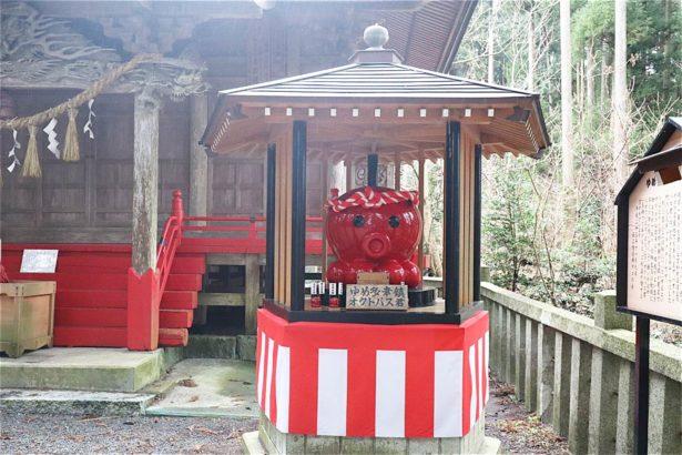 入谷八幡神社與章魚君